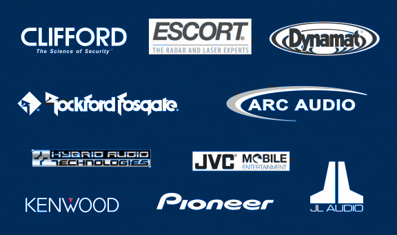 JL Audio, Clifford, Sirius Satellite Radio, dynamat, Rockford Fosgate, Kenwood, pioneer, Escort